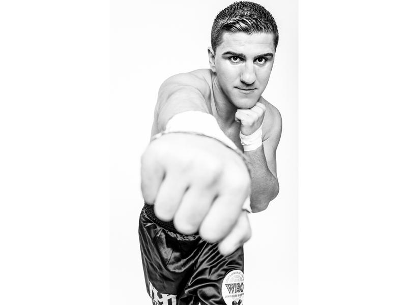 Marco Huck, Portrait - Geschafft!!! - Herzlichen Glückwunsch zur 13ten WBO Titelverteidigung! photography by bernhard Volkwein