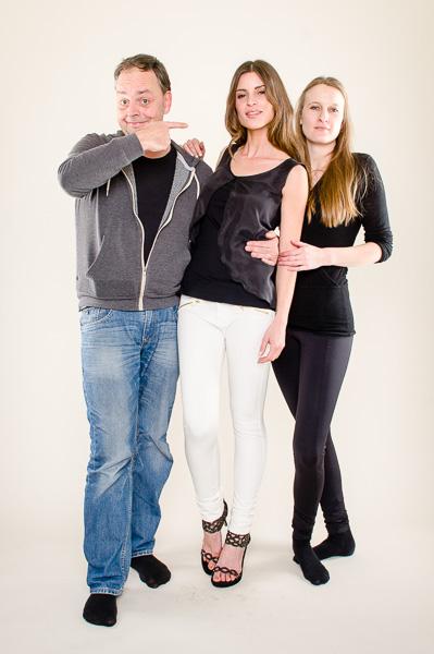 Studioshooting with Alissa Harout and Janna Lenartz - Fashiondesigner