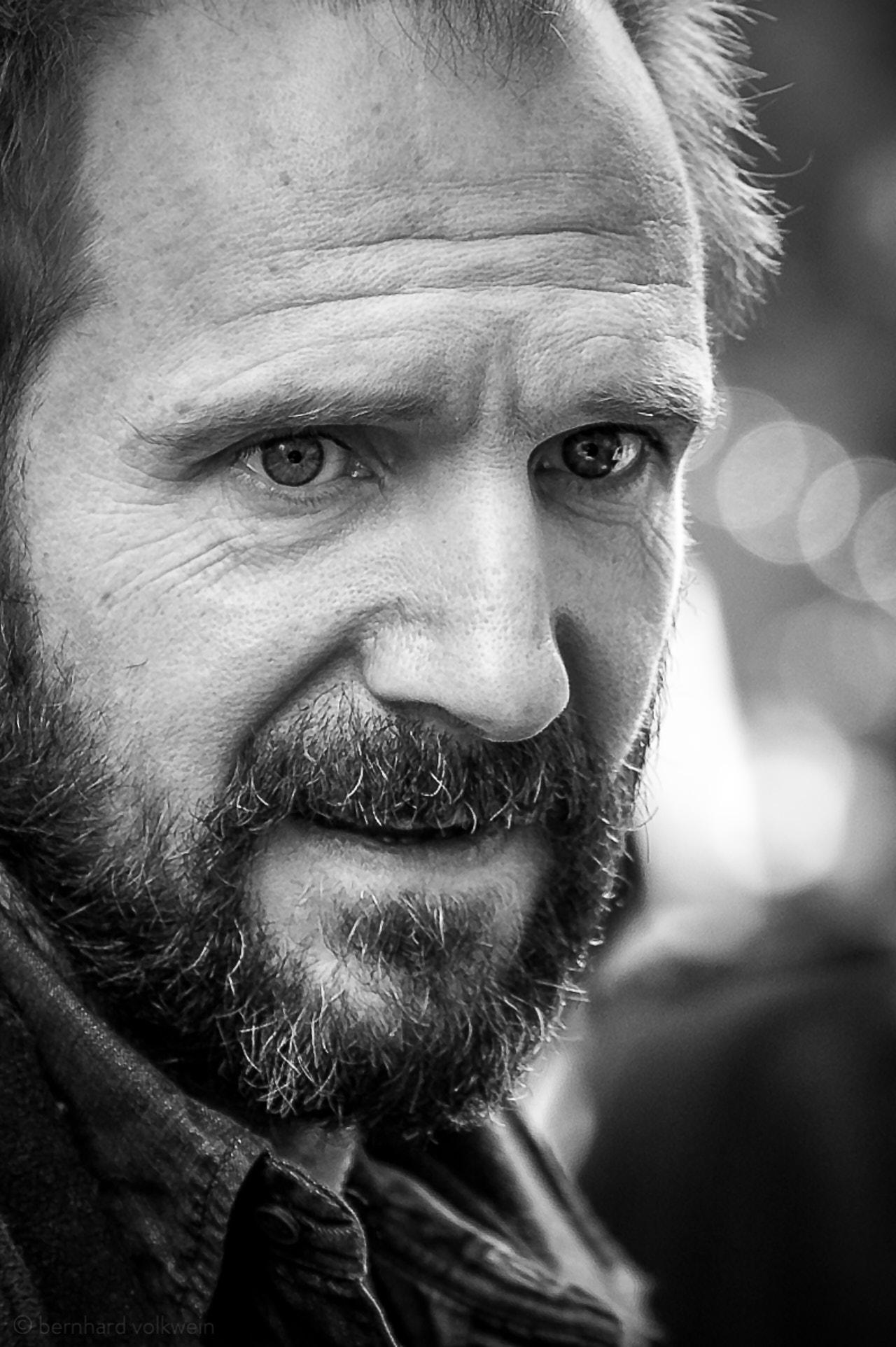 Ralph Fiennes by Bernhard Volkwein